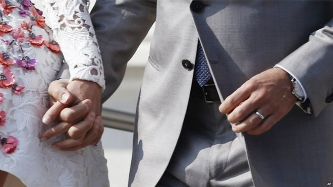 George Clooney and Amal Alamuddin marry in Venice BBC News