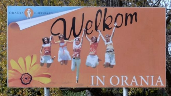 Image result for welcome to orania