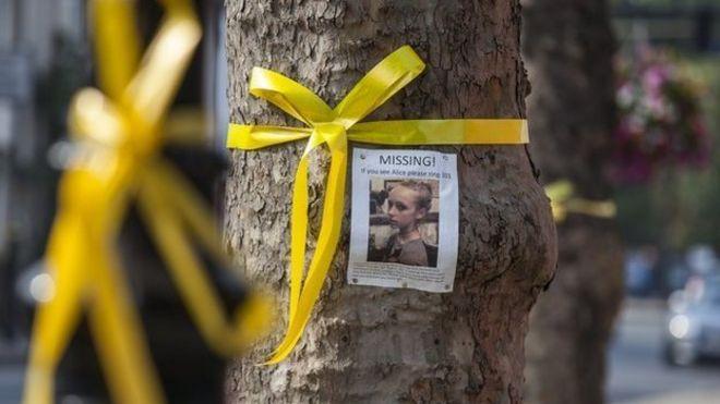 The history of the yellow ribbon bbc news alice gross yellow ribbons mightylinksfo