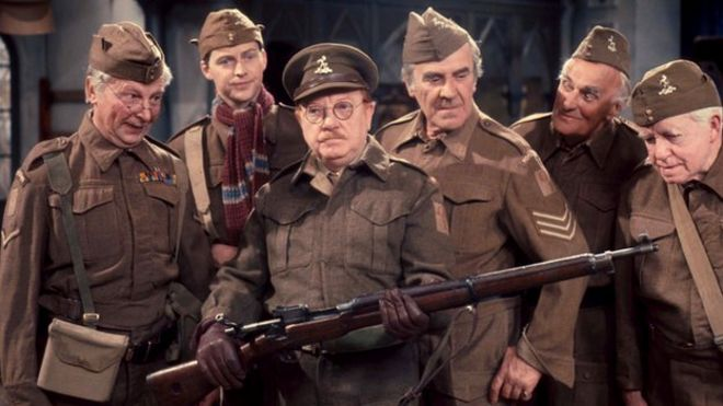 ab0319be Gambon and Courtenay to star in Dad's Army film - BBC News
