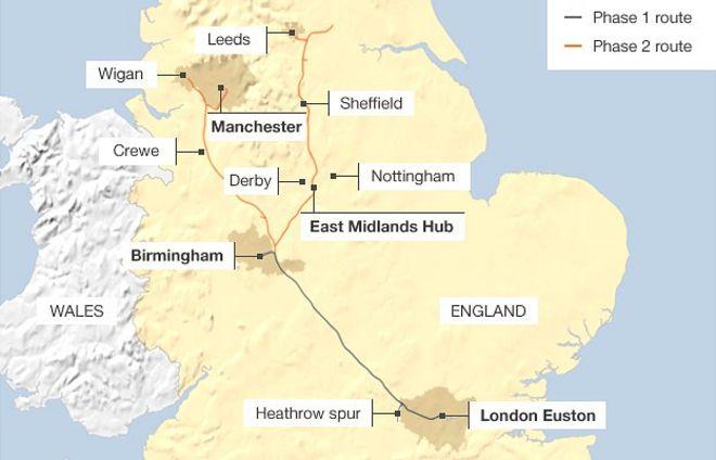 East Midlands council rows threaten HS2 benefits  BBC News