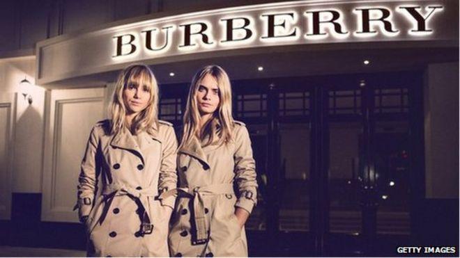 80f137f4ce90 Burberry s revenues rise despite  difficult  environment - BBC News
