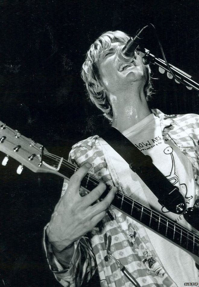 Nirvana 25 Years Since First Uk Gig In Newcastle Bbc News