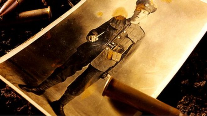 Фотография солдата