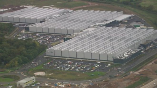 New Jaguar Land Rover jobs in Wolverhampton factory expansion - BBC