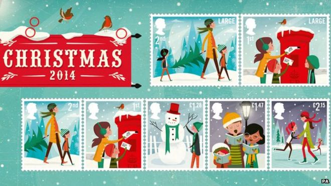stamps - Christmas Stamp