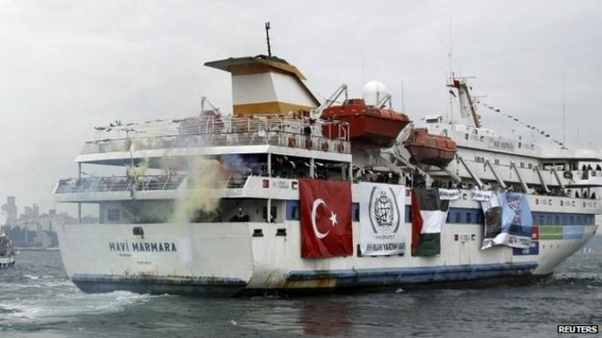 Image result for israel turkey flotilla 2010