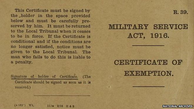 World War One: Military service tribunals and those who did not ...