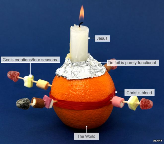 Christingle The Christmas Tradition That Only Got Going In The