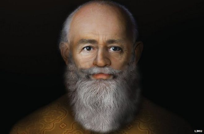 Father Christmas: Saint Nicholas' face revealed - BBC News
