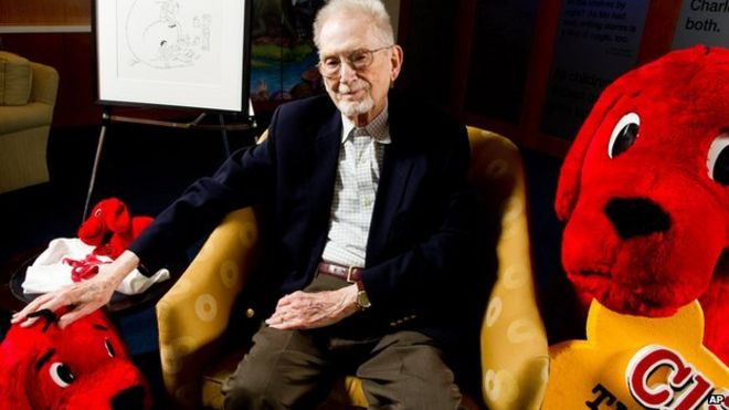 Clifford The Big Red Dog Creator Norman Bridwell Dies Aged 86