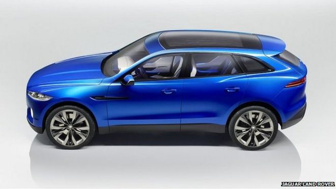 Jaguar Land Rover To Create Uk Jobs To Build Suv Bbc News