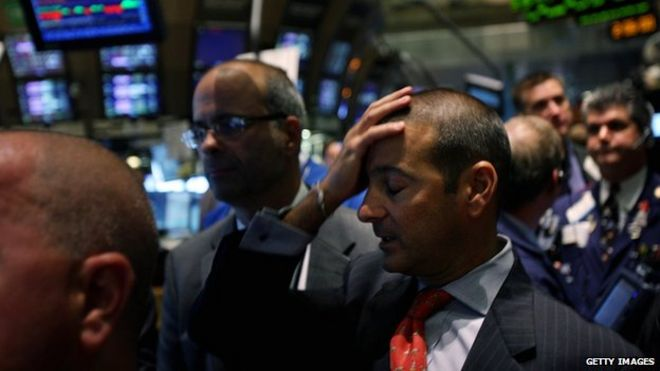 Why stock market crashes happen in the autumn - BBC News