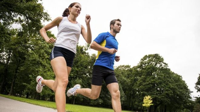 training very hard as bad as no exercise at all bbc news