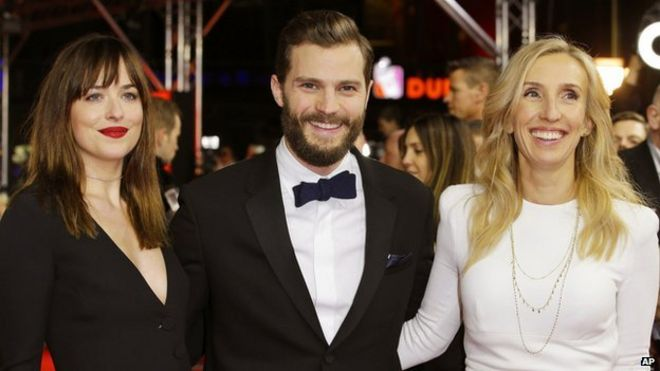 Fifty Shades Of Grey Film Premieres In Berlin Bbc News