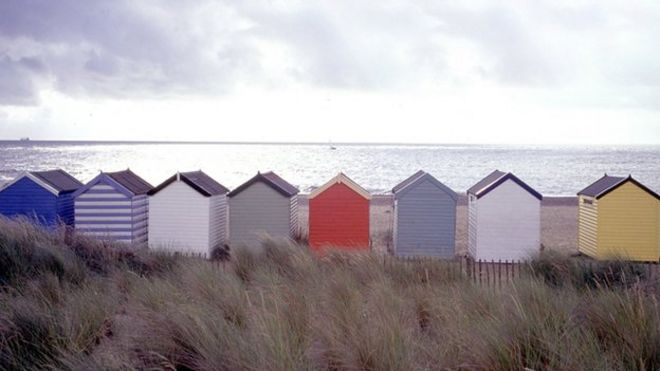 Beach huts generic