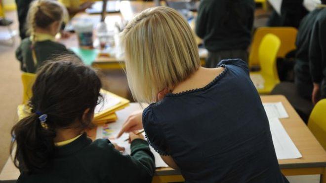 Учитель и ребенок