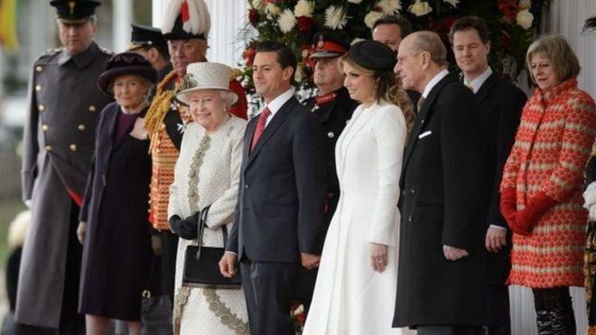 Государственный визит президента Мексики