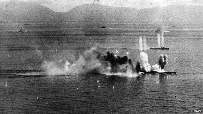 japan s ww2 musashi battleship wreck found bbc news