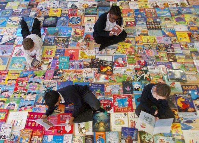 Ученики начальной школы Хексторпа