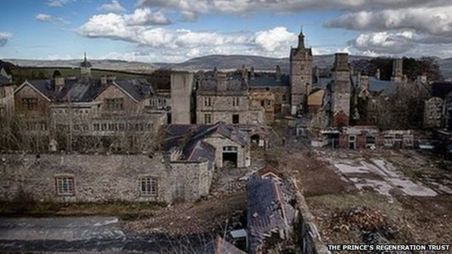 Вид на больницу Северного Уэльса