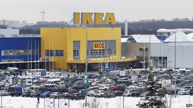 Ikea Closes Website In Russia Over Gay Propaganda Fears Bbc News