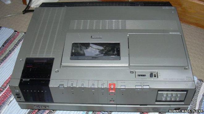 Betamax рекордер