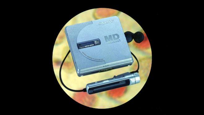 Проигрыватель Sony Minidisc