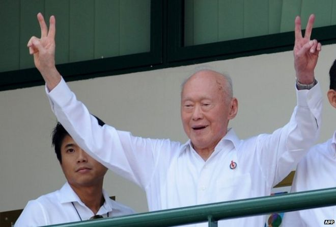 Singapore's founding father Lee Kuan Yew dies at 91 - BBC News