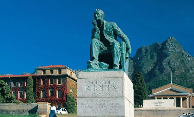 Why Is Cecil Rhodes Such A Controversial Figure Bbc News