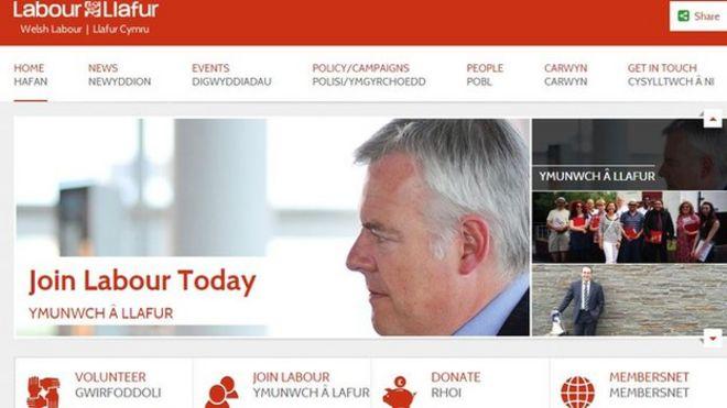 Уэльский лейборист на странице Facebook