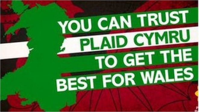 Изображение, используемое на странице Twitter пледа Cymru