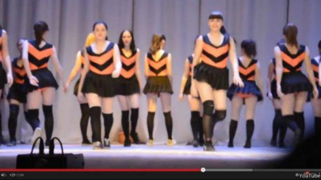 Twerking Video Screengrab