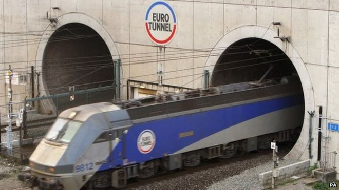 Eurotunnel Delay After Power Failure Shuts Tunnel Bbc News