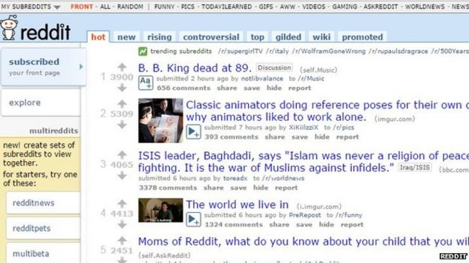 Reddit, under Ellen Pao, launches harassment crackdown - BBC News