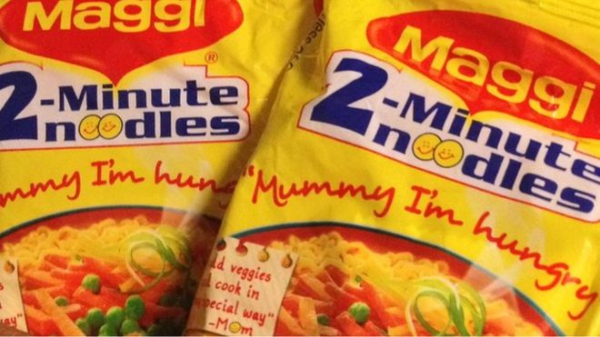 Maggi noodles withdrawn in East African supermarket - BBC News