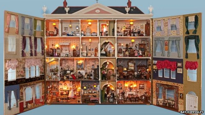 Doll House Collection Moves To Potting Sheds At Newby Hall Bbc News