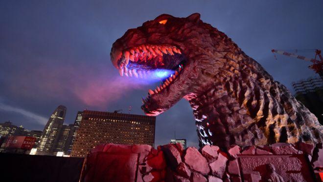 Godzilla finally gets citizenship in Japan BBC News