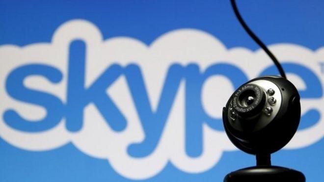 Skype service restored after network problems bbc news skype logo stopboris Gallery