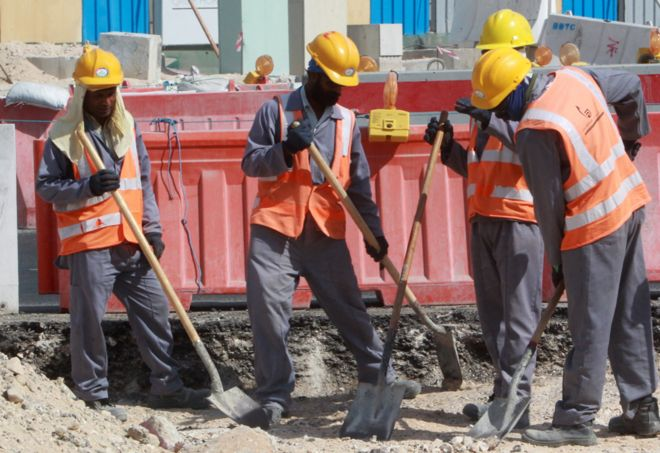 have 1 200 world cup workers really died in qatar bbc news
