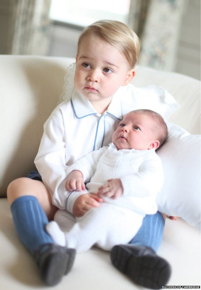 Prince George: The traditional clothes royal children are dressed in ...