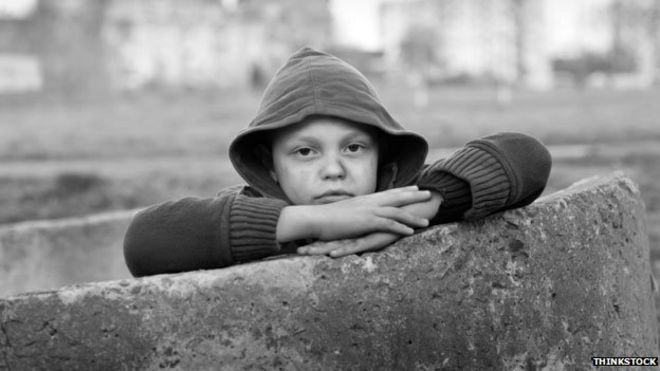 poor children more likely to be in care bbc news