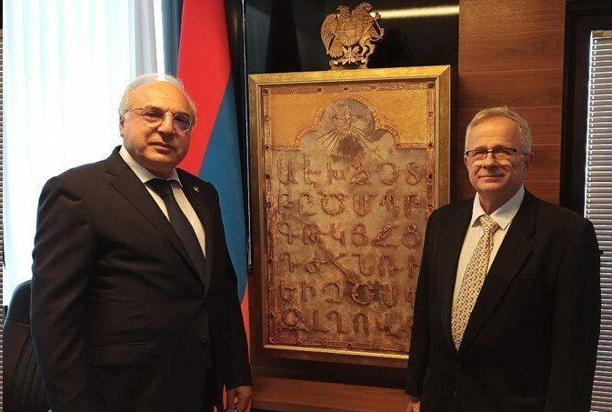 سفارت ارمنستان در تل آویو اسرائیل افتتاح شد