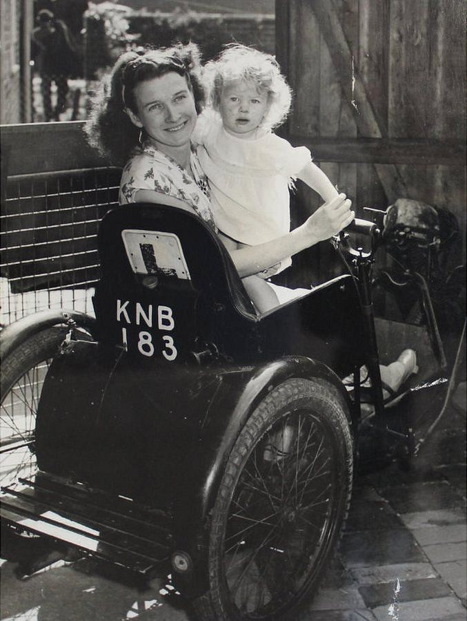 Mum and child in wheelchair