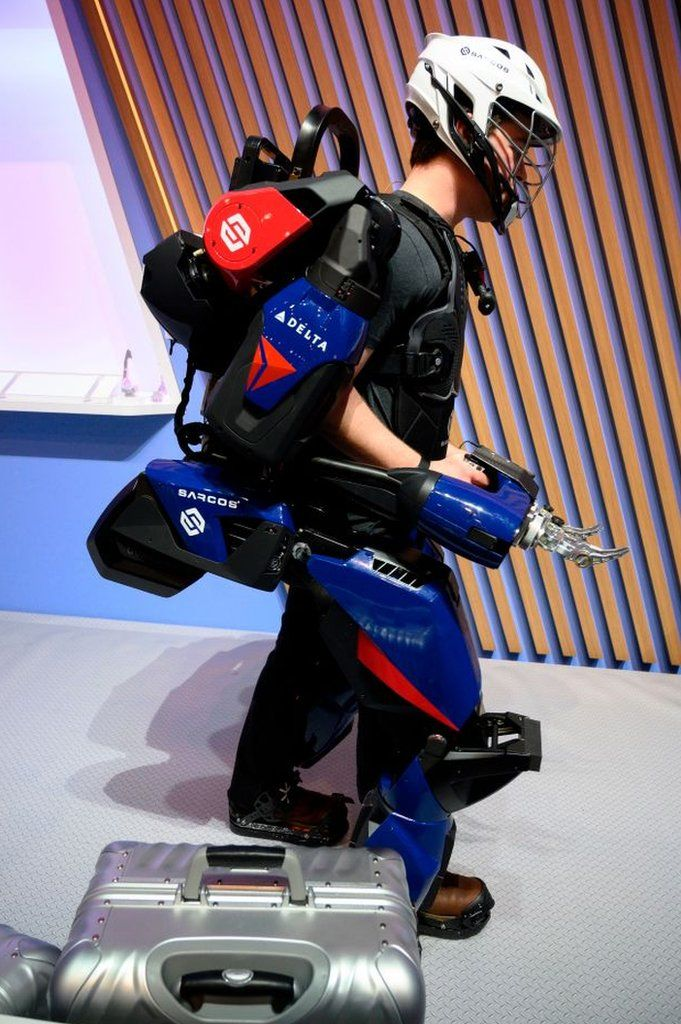 Would you wear 'Iron Man' body armour? thumbnail