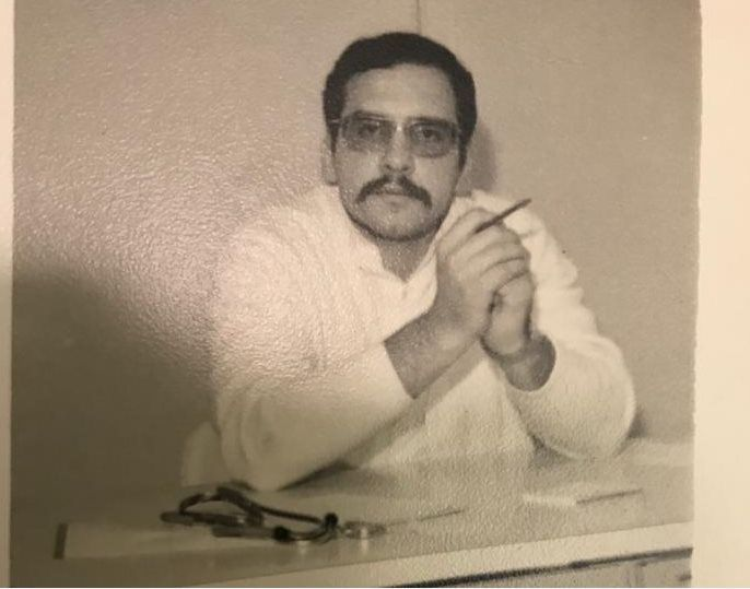 Infectologista Roberto Focaccia em 1972