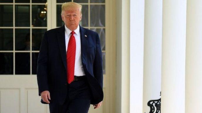 Donald Trump, presidente de Estados Unodos