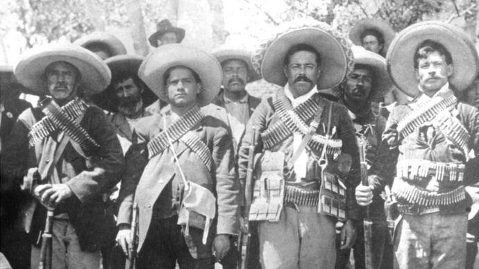 La Revolución Mexicana se prolongó desde 1910 hasta 1917 y dejó más de un millón de muertos.