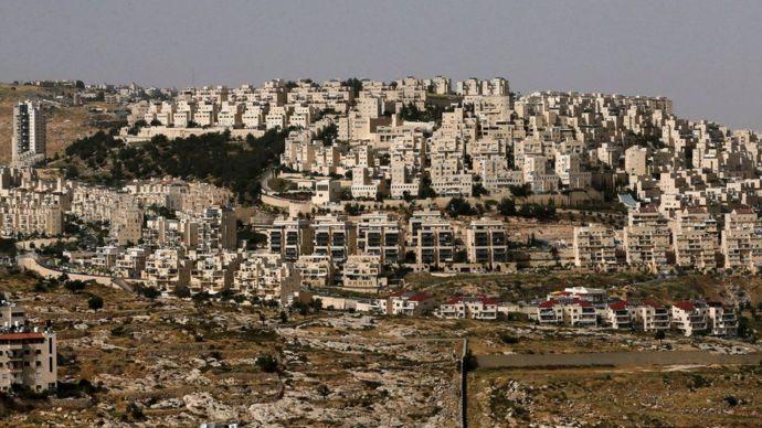 Asentamientos judíos en Cisjordania.