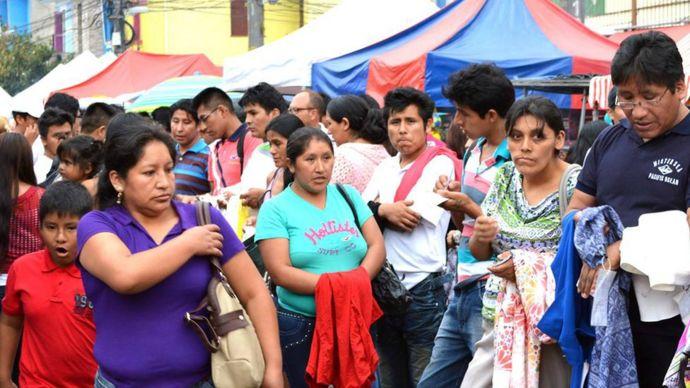 Bolivianos en Sao Paulo